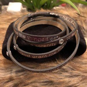 Jewelry - Goodworks leather serenity bracelet
